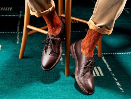 How To Wear Men's Dress Socks