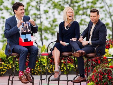 Justin Trudeau's socks appeal
