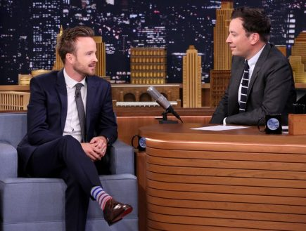 Aaron Paul Ribbed Socks Game