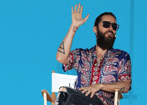 Jared Leto Wore Slide Sandals with Socks, But Should You?