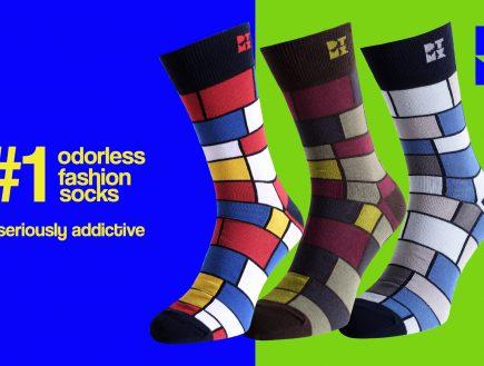 Mondrian Socks Mania 3-PACK