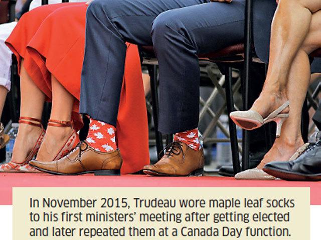 Justin Trudeau Socks
