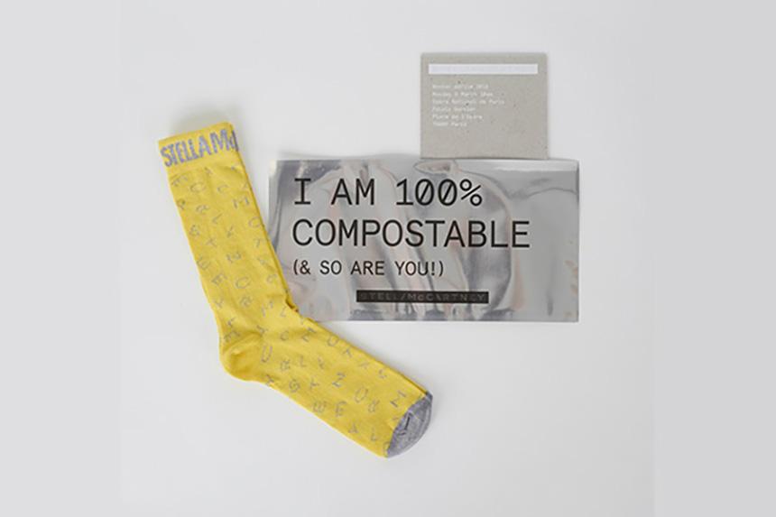 Stella McCartney's Upcycled, Zero-Waste Eco-Friendly Socks