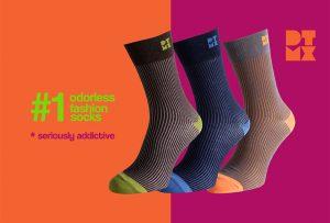 Bamboo Funky Ribbed Socks