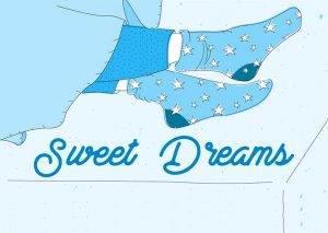 Sleeping with socks