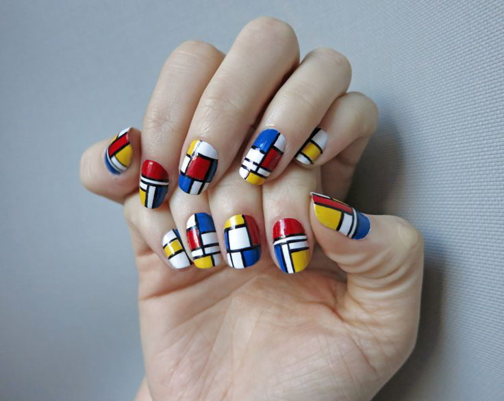 Piet Mondrian Art Socks