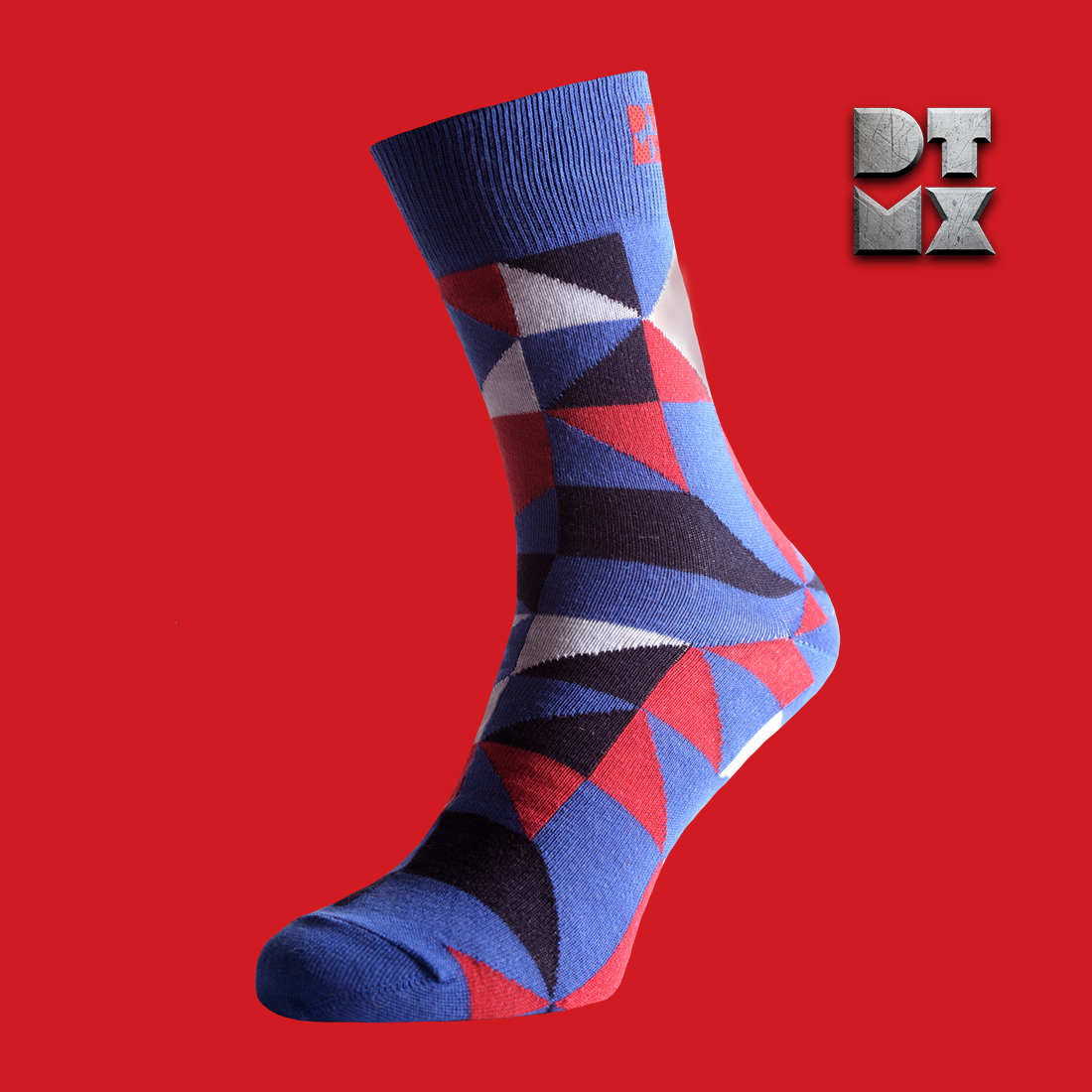 Sock Club Sock Subscription | Funky Dress Silver Socks