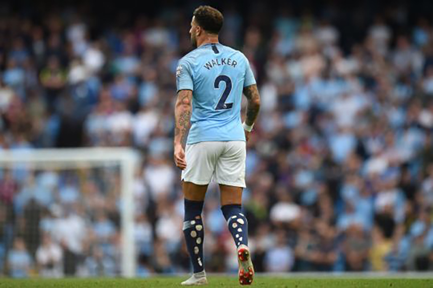 Why Kyle Walker Cuts Holes In The Back Of His Socks