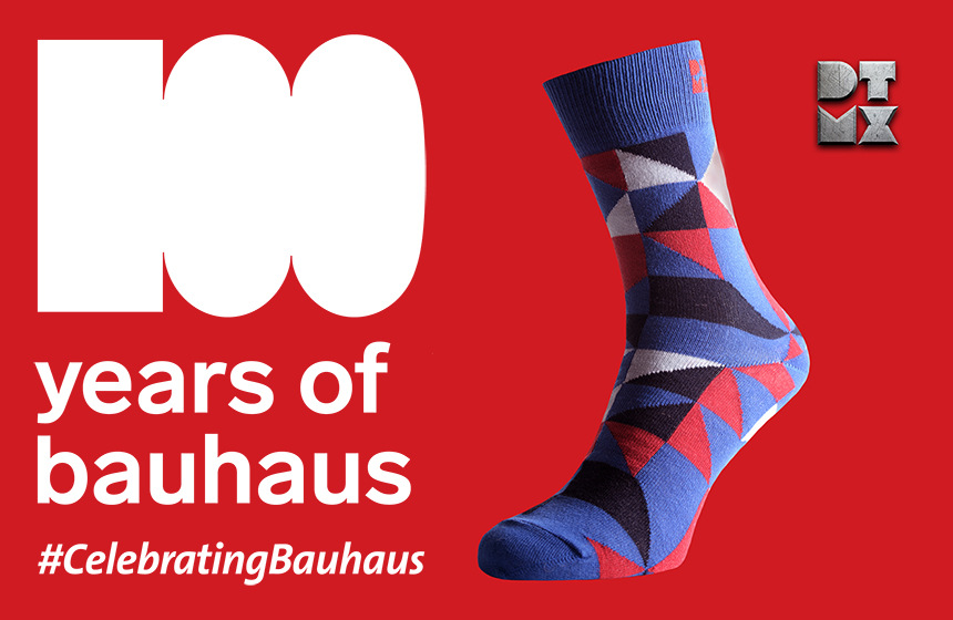 100 years of Bauhaus. Bauhaus Socks